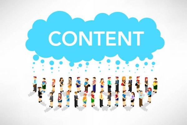criação de conteúdos