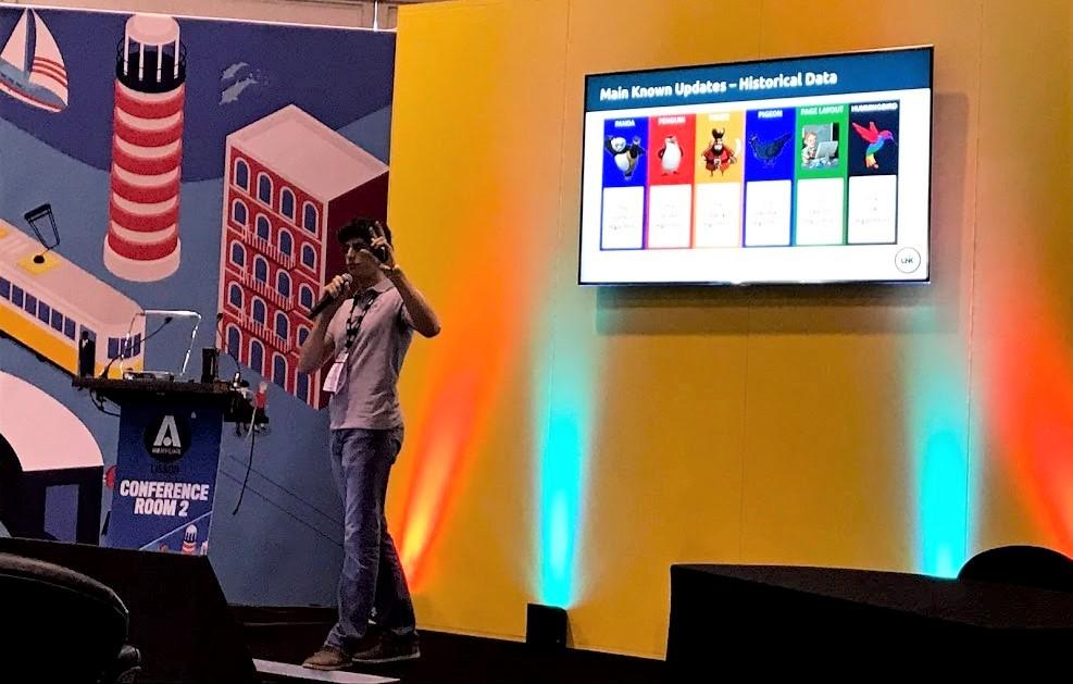 Google Algorithm Updates iGB Lisbon 2019 Grégoire Lacan