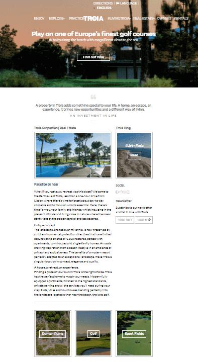 Troia Resort Caso de Éxito