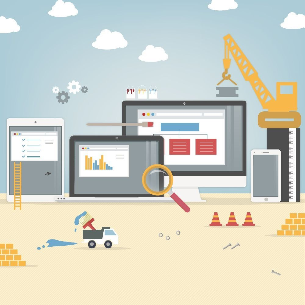 Benefícios dos construtores de sites