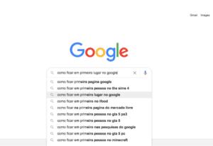 Como ficar em primeiro lugar no Google?
